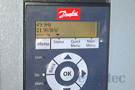 Sostituzione inverter Reliance con inverter Danfoss